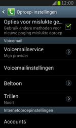 Samsung S7710 Galaxy Xcover 2 - Voicemail - handmatig instellen - Stap 7