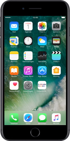 Apple iPhone 6 (iOS 8) - apps - hollandsnieuwe app gebruiken - stap 2