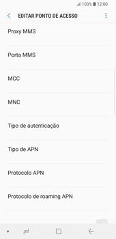 Samsung Galaxy S9 - Internet (APN) - Como configurar a internet do seu aparelho (APN Nextel) - Etapa 13