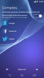 Sony Xpéria M2 - Premiers pas - Créer un compte - Étape 7
