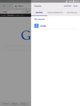 Samsung Galaxy Tab A - Internet et connexion - Naviguer sur internet - Étape 9