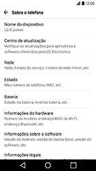 LG X Power - Primeiros passos - Como encontrar o número de IMEI do seu aparelho - Etapa 5