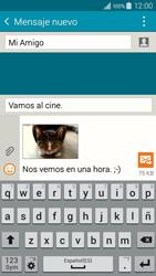 Samsung Galaxy A3 - Mensajería - Escribir y enviar un mensaje multimedia - Paso 23