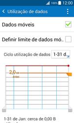 Samsung Galaxy J1 - Internet no telemóvel - Como ativar os dados móveis -  6