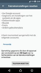 Sony Xperia X Compact (F5321) - Android Nougat - Resetten - Fabrieksinstellingen terugzetten - Stap 6