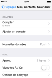 Apple iPhone 4s iOS 8 - E-mail - Configuration manuelle - Étape 25