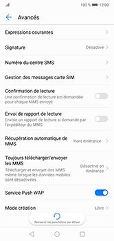 Huawei P20 Lite - SMS - configuration manuelle - Étape 8