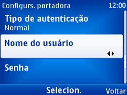 Nokia X2-01 - Internet - Como configurar seu celular para navegar através de Vivo Internet - Etapa 13