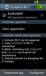 Samsung I8190 Galaxy S III Mini - WiFi - Mobiele hotspot instellen - Stap 11