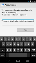 Acer Liquid Z500 - Email - Manual configuration - Step 18