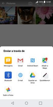 LG Q6 - Bluetooth - Transferir archivos a través de Bluetooth - Paso 9