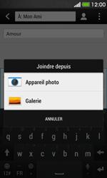 HTC Desire 500 - MMS - envoi d'images - Étape 12