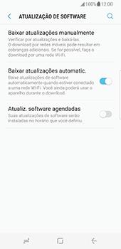 Samsung Galaxy S8 - Funções básicas - Como atualizar o software do seu aparelho - Etapa 5
