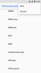 Nokia 3 - Android Oreo - MMS - Manual configuration - Step 16