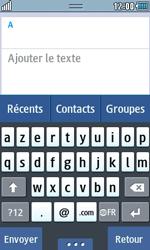 Samsung Wave 723 - Contact, Appels, SMS/MMS - Envoyer un SMS - Étape 5