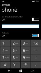 Microsoft Lumia 640 - Voicemail - Manual configuration - Step 8