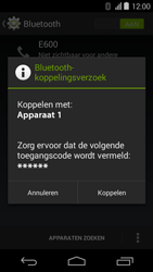 Acer Liquid E600 - WiFi en Bluetooth - Bluetooth koppelen - Stap 7