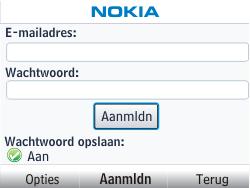 Nokia Asha 302 - E-mail - Handmatig instellen - Stap 7