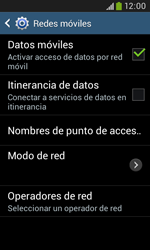 Samsung S7580 Galaxy Trend Plus - Red - Seleccionar una red - Paso 6