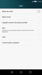 Huawei P8 Lite - Internet no telemóvel - Como partilhar os dados móveis -  4