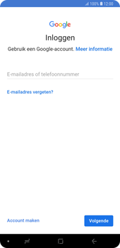 Samsung Galaxy Note9 - E-mail - e-mail instellen (gmail) - Stap 9