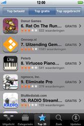 Apple iPhone 3G S - Applicaties - Downloaden - Stap 4