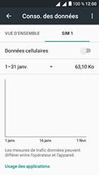 Alcatel U5 - Internet et connexion - Désactiver la connexion Internet - Étape 8