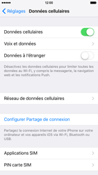 Apple iPhone 6 iOS 9 - Internet - activer ou désactiver - Étape 4