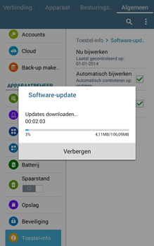 Samsung Galaxy Tab4 8.0 4G (SM-T335) - Software updaten - Update installeren - Stap 9