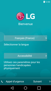LG G4 - Premiers pas - Créer un compte - Étape 3