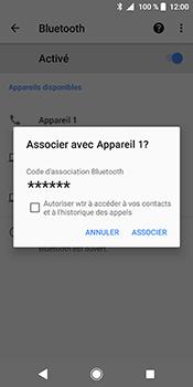 Sony Xperia XZ2 - Bluetooth - connexion Bluetooth - Étape 10
