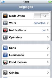 Apple iPhone 3G - Internet - activer ou désactiver - Étape 3