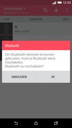 HTC Desire EYE - Contactgegevens overzetten - delen via Bluetooth - Stap 10