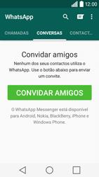 LG Y50 / LEON - Aplicações - Como configurar o WhatsApp -  11
