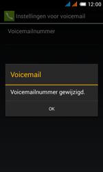Alcatel OT-4033X Pop C3 - Voicemail - Handmatig instellen - Stap 12