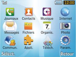 Samsung S3350 Chat 335 - E-mail - Configuration manuelle - Étape 3