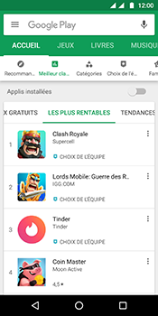 Motorola Moto G6 - Applications - Télécharger une application - Étape 7