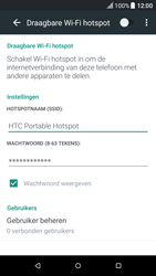HTC One A9 - Android Nougat - WiFi - Mobiele hotspot instellen - Stap 14
