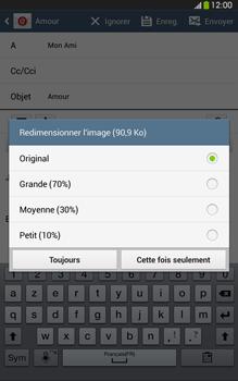 Samsung Galaxy Tab 3 8 4G - E-mails - Envoyer un e-mail - Étape 16