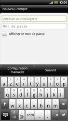 HTC X515m EVO 3D - E-mail - Configurer l