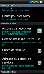 LG P990 Optimus 2X Speed - SMS - configuration manuelle - Étape 4