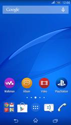 Sony Xperia E4G - Primeiros passos - Baixar o manual - Etapa 1