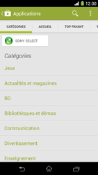 Sony Xpéria Z1 - Applications - Télécharger une application - Étape 6
