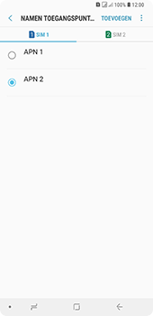 Samsung Galaxy A9 - Internet - handmatig instellen - Stap 20