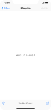 Apple iPhone XS Max - E-mails - Envoyer un e-mail - Étape 3