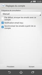 Sony Xperia Z2 (D6503) - E-mail - Configuration manuelle - Étape 16