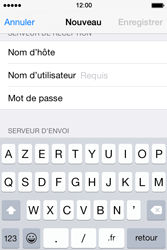 Apple iPhone 4s iOS 8 - E-mail - Configuration manuelle - Étape 12