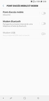 Samsung Galaxy A7 2018 - Internet et connexion - Utiliser le mode modem par USB - Étape 6