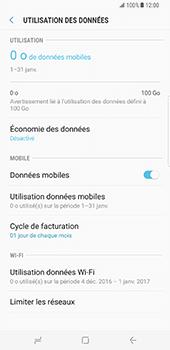 Samsung Galaxy S8 Plus - Internet - Désactiver les données mobiles - Étape 6