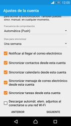 Sony Xperia Z3 - E-mail - Configurar Outlook.com - Paso 9
